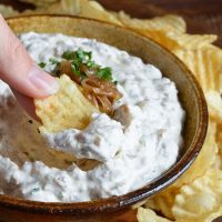 Cold French Onion Dip