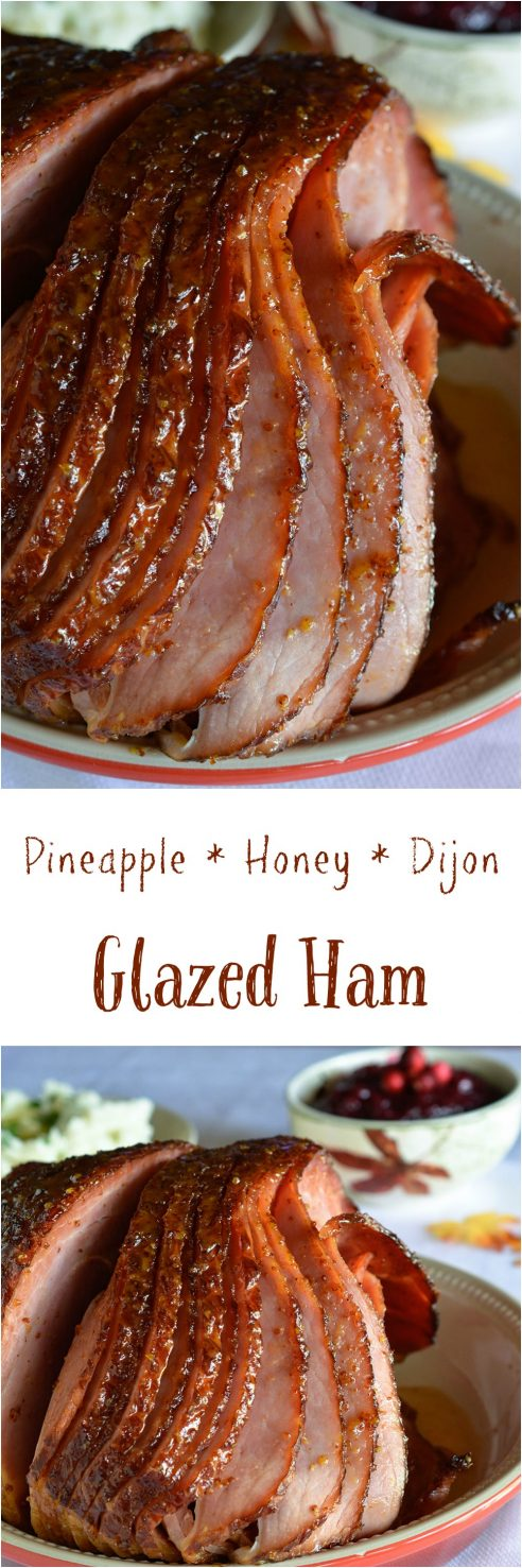 how to cook a spiral ham with pineapple and cherries