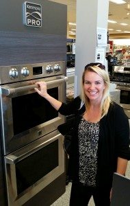 Shopping for new ovens at Sears