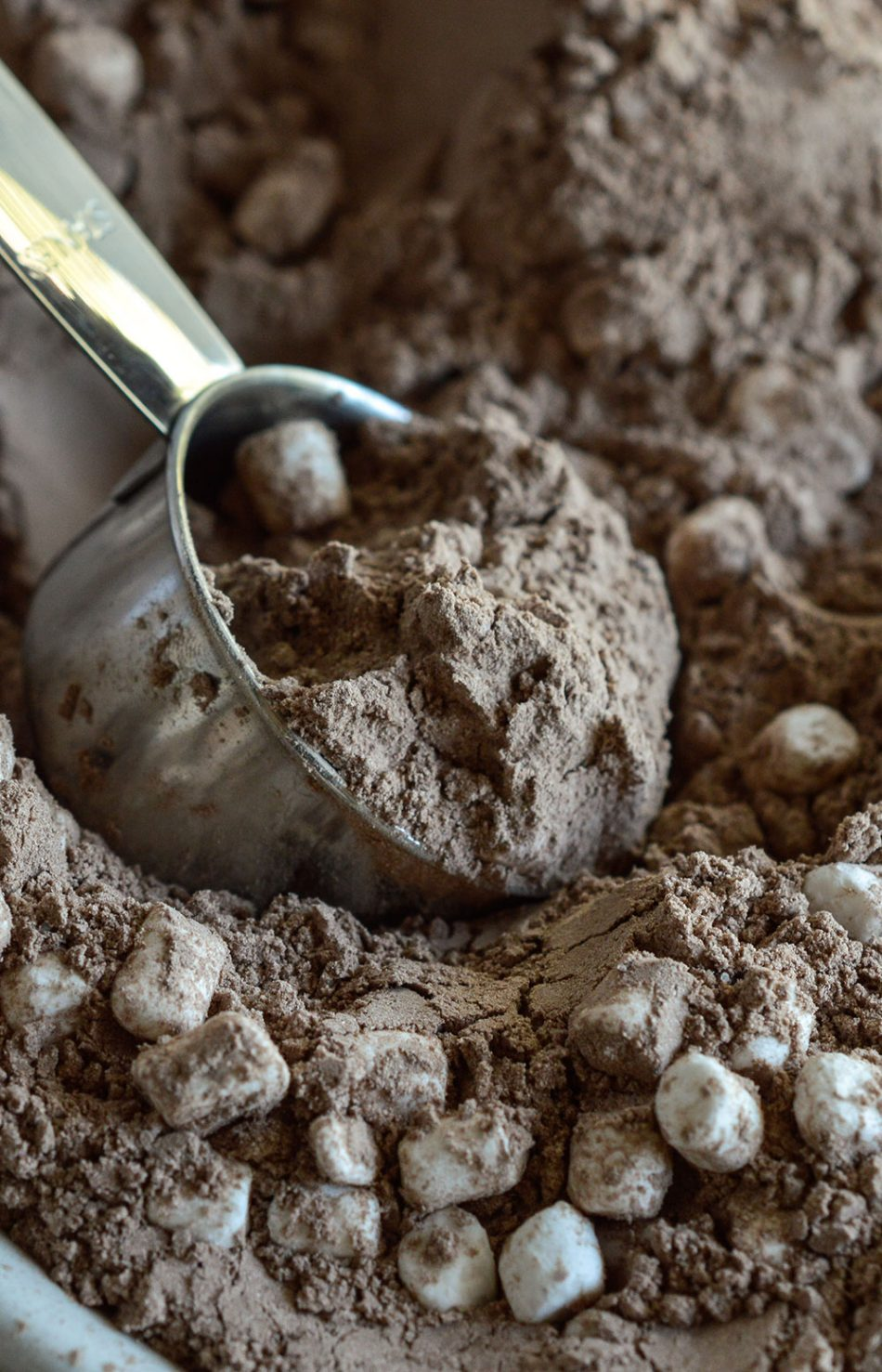 Make this homemade Hot Cocoa Mix Recipe for yourself or to give as an edible gift. This DIY cocoa mix makes the perfect sweet, chocolate beverage to drink on chilly winter nights!