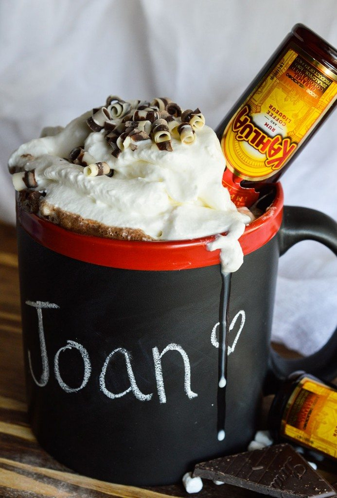 Make this homemade Hot Cocoa Mix Recipe for yourself or to give as an edible gift. This DIY cocoa mix makes the perfect sweet, chocolate beverage to drink on chilly winter nights! Spike it with Kahlua for the ultimate adult dessert!