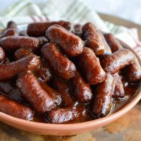 Apple Barbecue Slow Cooker Little Smokies