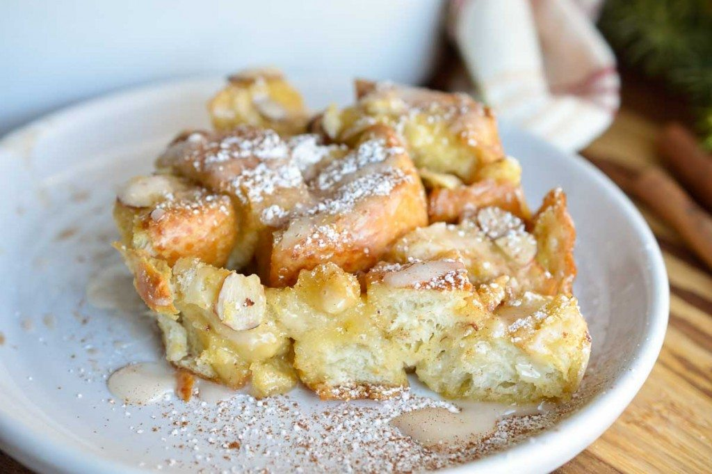 Dairy Free Egg Nog French Toast Casserole