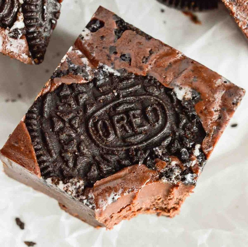 Easy Oreo Microwave Fudge