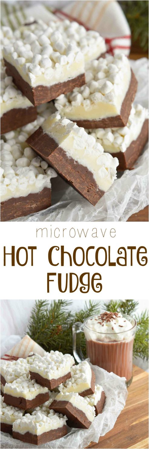 Hot Chocolate Fudge Recipe - WonkyWonderful