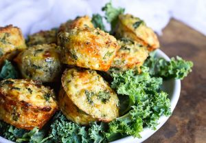Kale and Quinoa Bites
