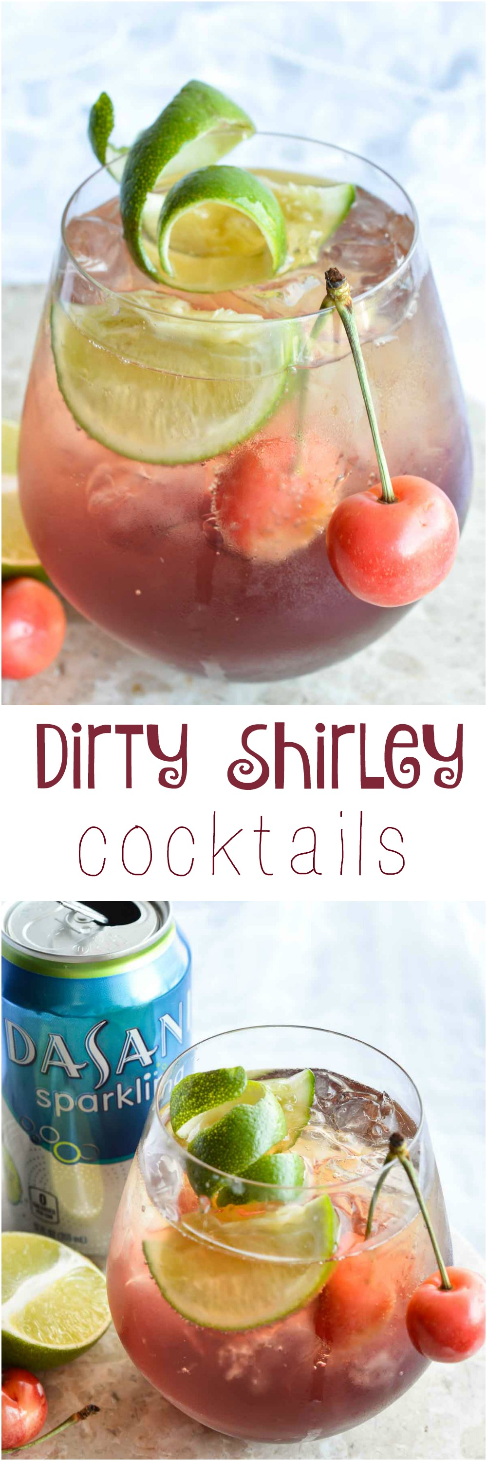 Shirley Temple Cocktail Recipe