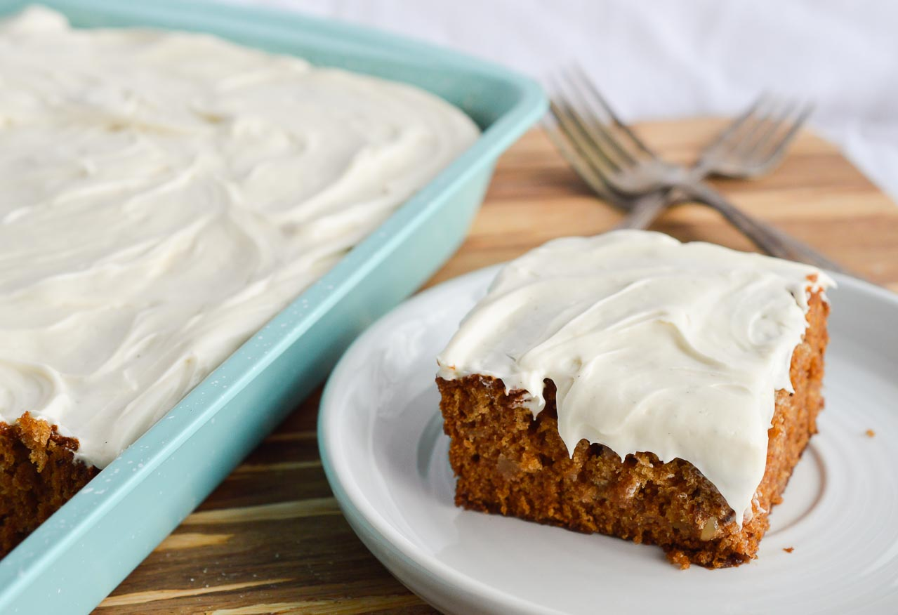 Apple Cake With Cream Cheese Icing Recipe