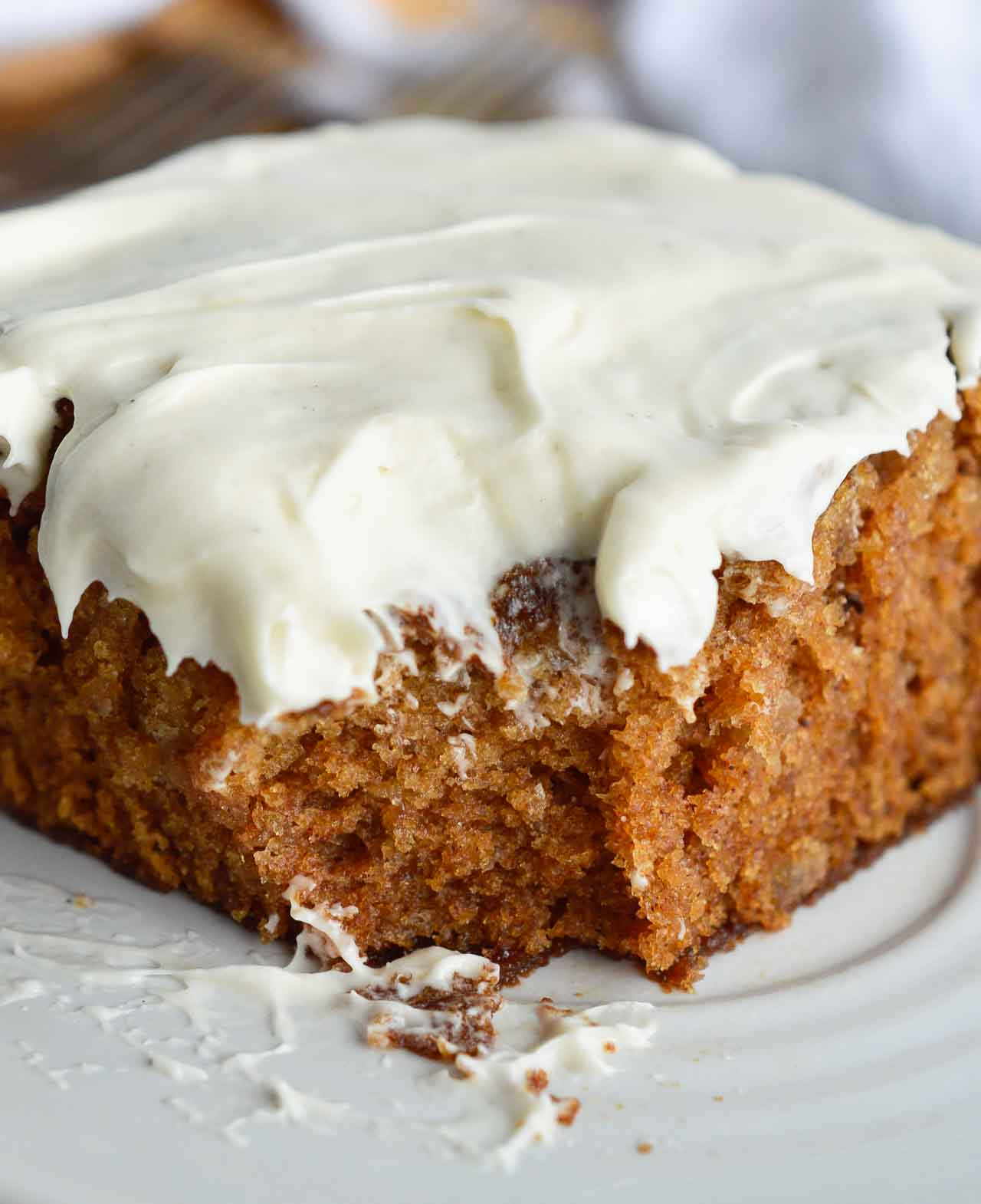 Simple carrot apple cake recipe