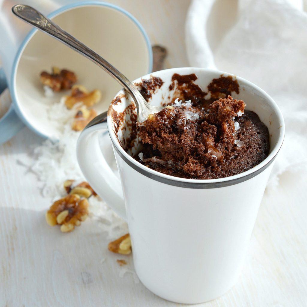 How To Make A Chocolate Mug Cake In  Minutes