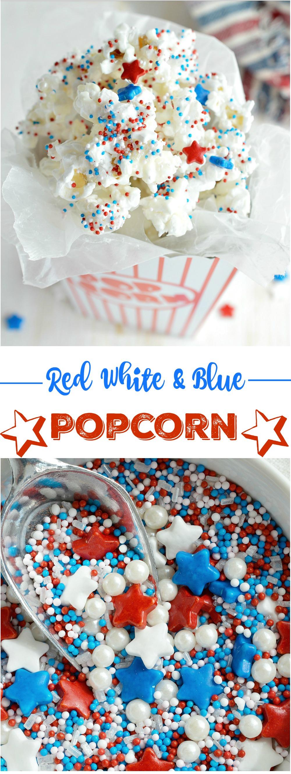4th Of July Dessert Popcorn Wonkywonderful