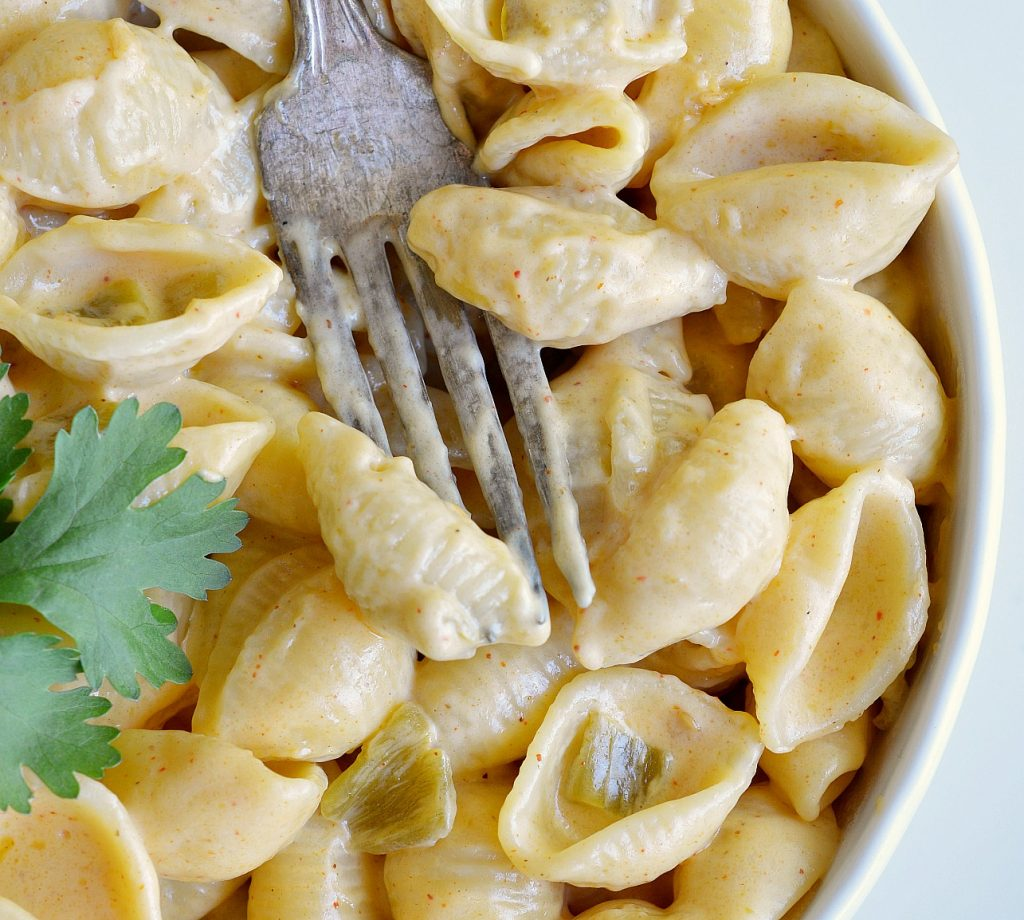 Mexi Style Stovetop Mac and Cheese