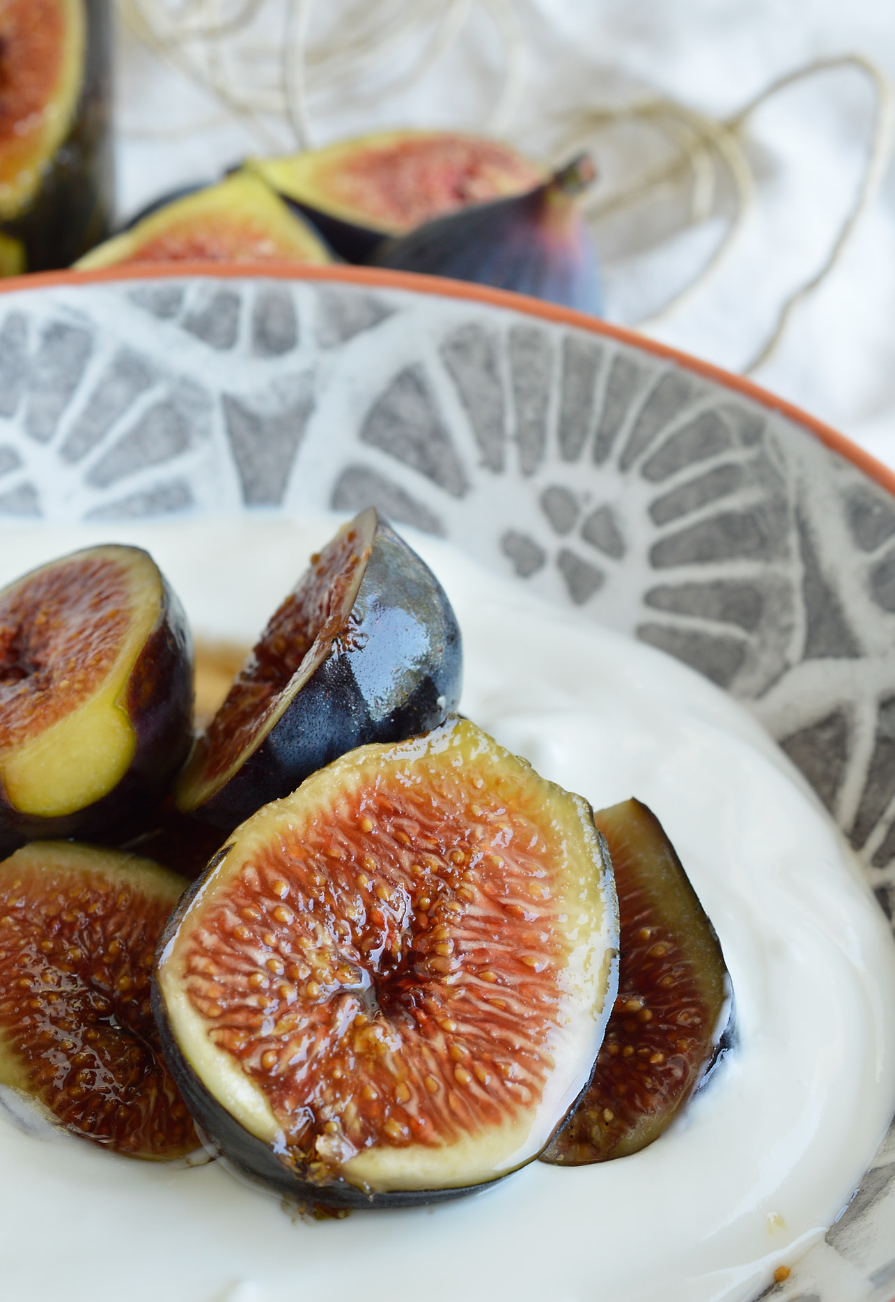 It is my favorite time of year, Fig Season! If you have an abundance of fresh figs or just like boozy fruit try this Amaretto Soaked Figs Recipe. Serve over ice cream or yogurt for a unique and flavorful dessert!