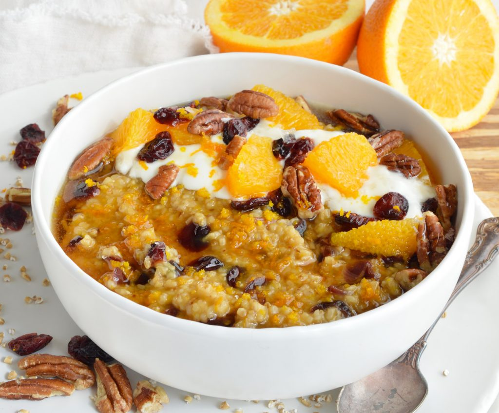 Cranberry Orange Steel Cut Oats Recipe