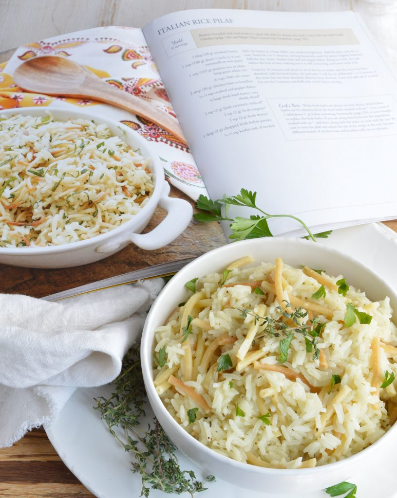 Easy Rice Pilaf Recipe from The Weeknight Dinner Cookbook