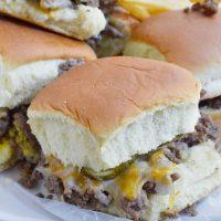 Oven Baked Mini Burgers