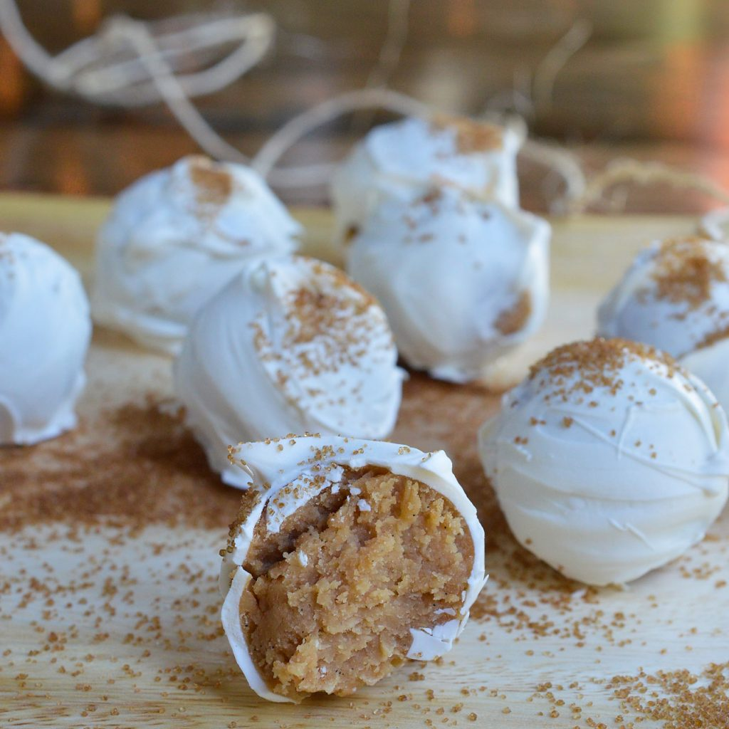Vanilla Cookie Balls Recipe