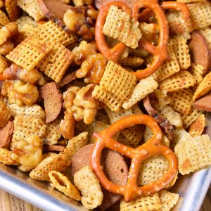Sweet and Salty Chex Mix Recipe
