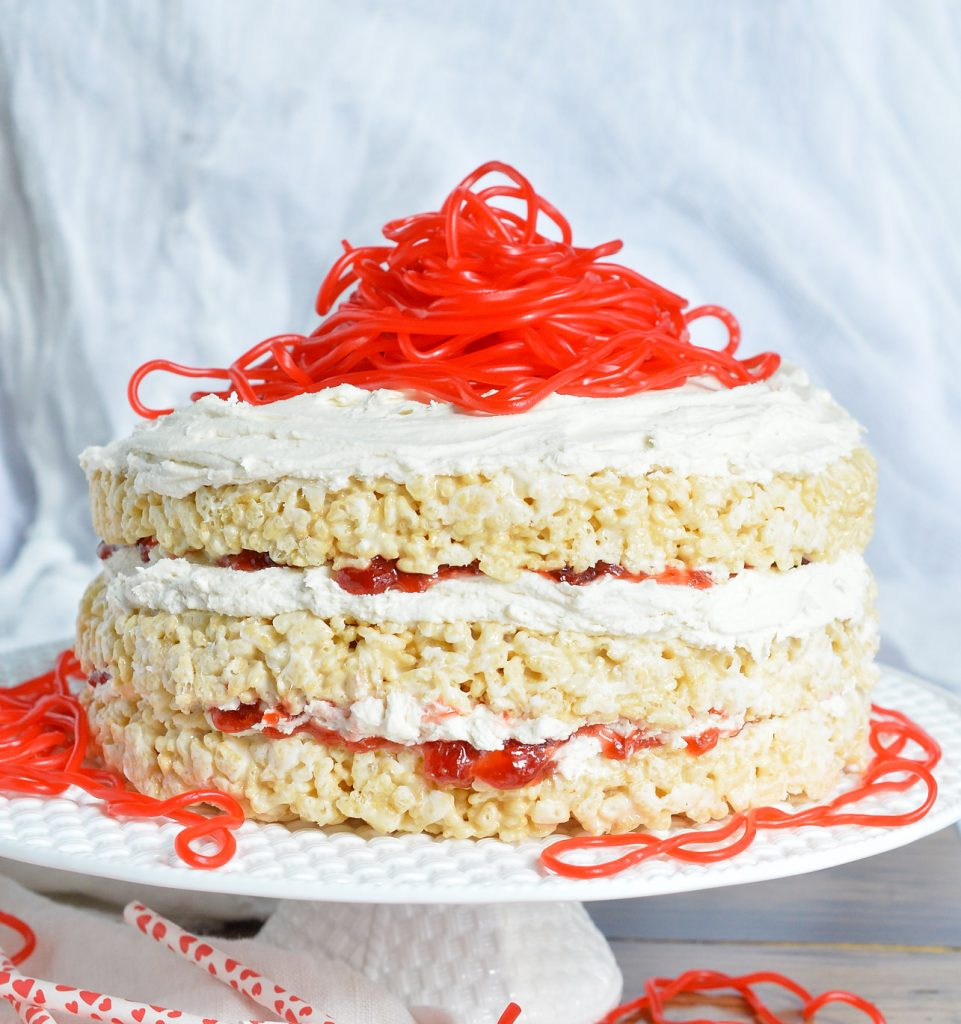 Rice Crispy Treat Candy Cake