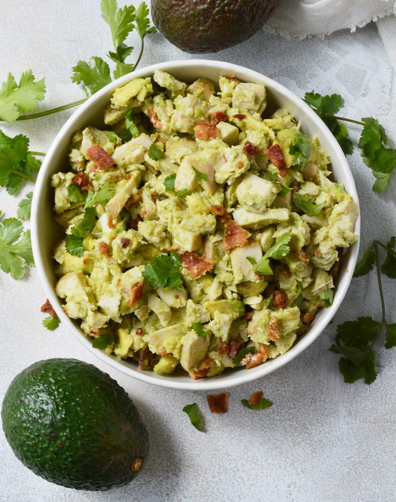 Bacon Avocado Chicken Salad Whole30 Recipe