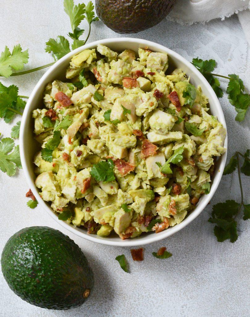 Bacon Avocado Chicken Salad Whole30 Recipe