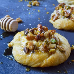 Honey Nut Cream Cheese Danish Recipe