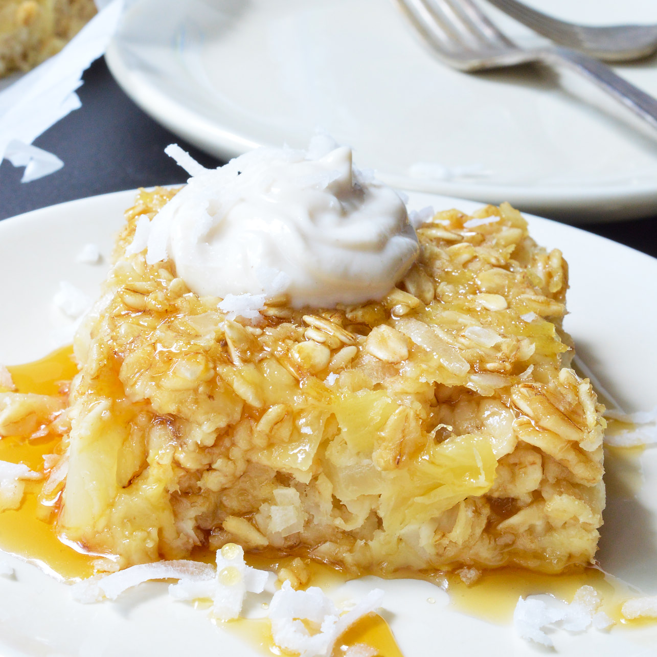 Gluten Free Dairy Free Pineapple Cake