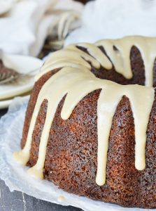 Brown Butter Glazed Bundt Cake Recipe