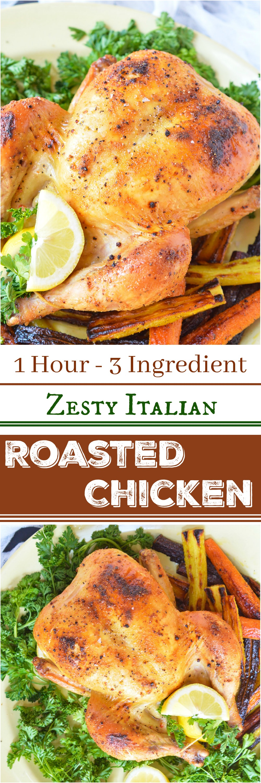 Oven Roasted Whole Chicken Wonkywonderful
