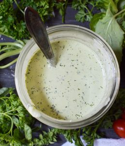 Pesto Ranch Dressing Recipe