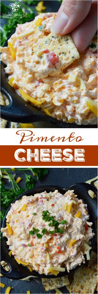 If you need an easy snack or appetizer thisPimento Cheese Recipe comes together in a snap! A favorite southern comfort food, this cheese spread is unbelievably delicious and highly addictive!