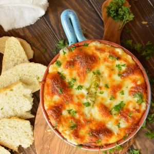 Hot Green Chile Artichoke Dip Recipe