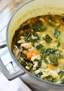 Vegetable Turkey Soup + Meal Planning Tips