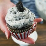 Make your favorite cake recipe or even a boxed cake mix extra special with this Oreo Cookies and Cream Frosting! This buttercream recipe is simple to make and loaded with crushed Oreos. It has a secret ingredient to give it that unique cookies & cream flavor.