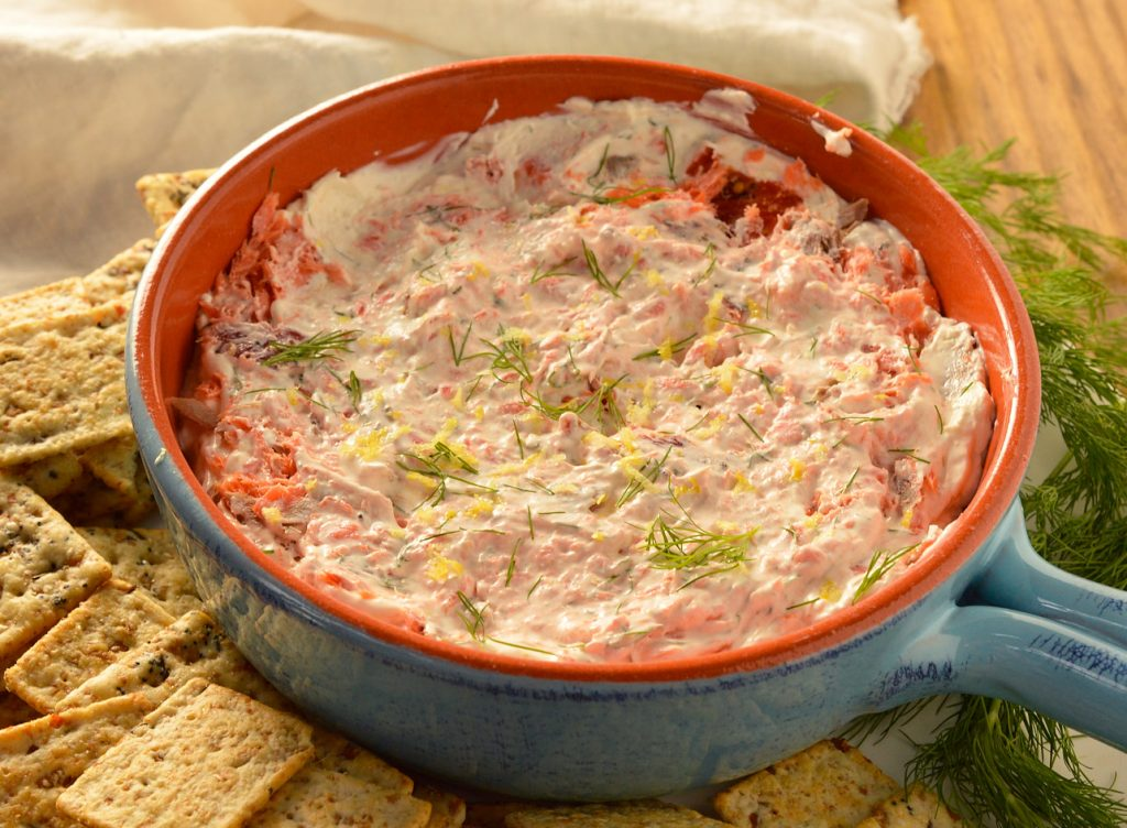 Smoked Salmon Dip + My Custom Family Cookbook