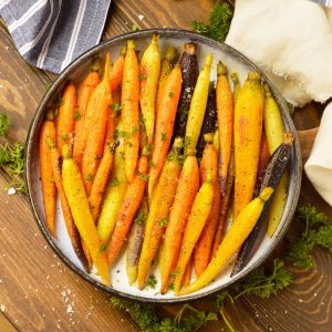 Oven Roasted Carrots (Whole30, Paleo, Vegan)