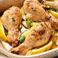 Whole30 - Paleo Lemon Garlic Chicken Drumsticks