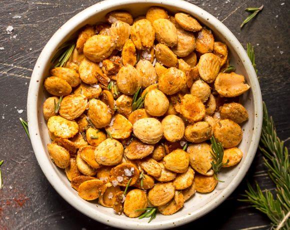 Spiced Roasted Almonds (Paleo, Whole30, Vegan, Gluten Free, Grain Free)