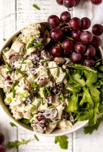 Chicken Salad with Grapes (Whole30, Paleo, Gluten Free)