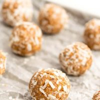 Almond Date Energy Balls Recipe