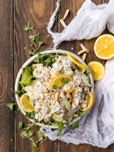 Poppy Seed Lemon Chicken Salad Recipe