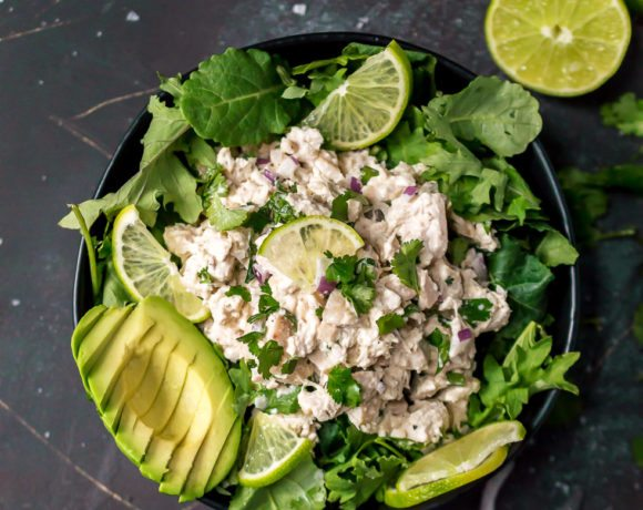 Cilantro Lime Chicken Salad Paleo Whole30