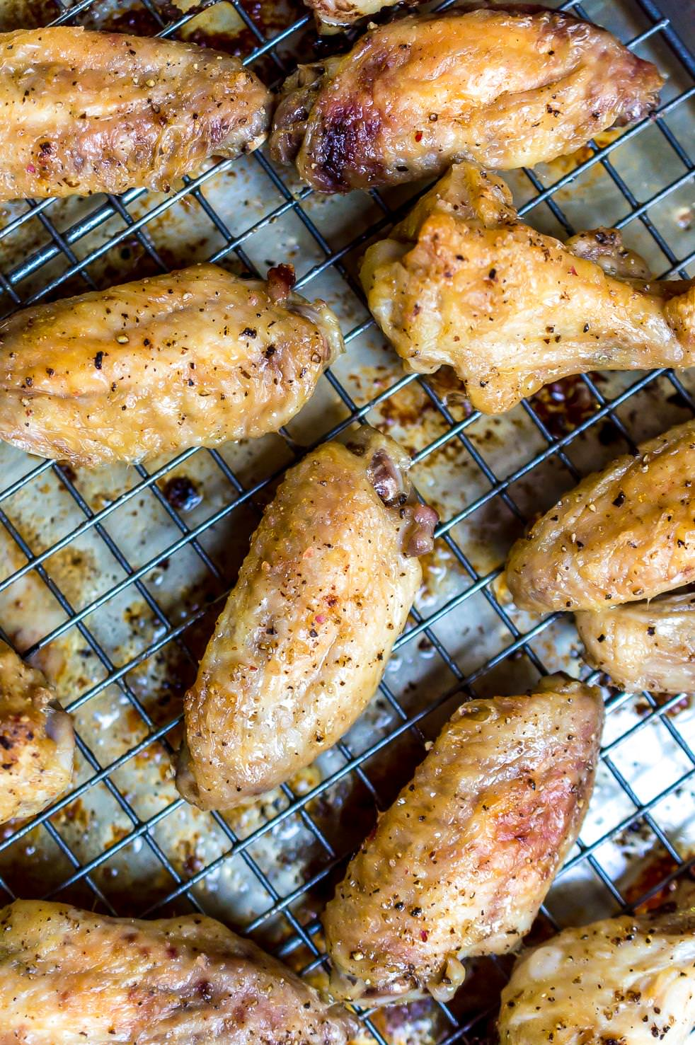 Oven Baked Chicken Wings Wonkywonderful