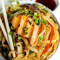 Ginger Soy Stir Fry Chinese Noodles