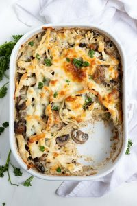 Easy Chicken Tetrazzini Recipe