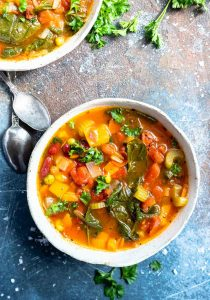 Easy Vegetable Soup Recipe