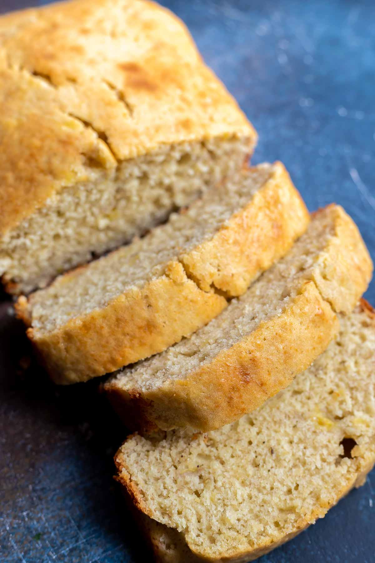 slices of perfectly simple banana bread