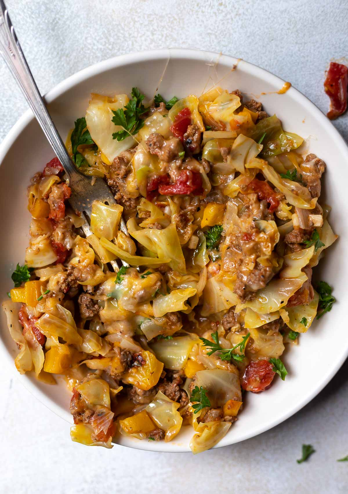 Unstuffed Cabbage Casserole Low Carb Wonkywonderful