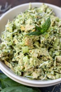Pesto Chicken Salad Recipe