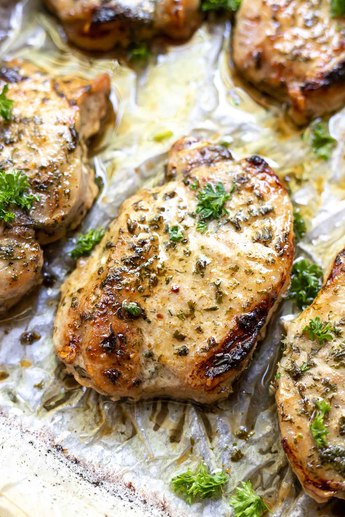 pork chop recipe with ranch packet RANCH PORK CHOPS (Oven-Baked) ☆ WonkyWonderful